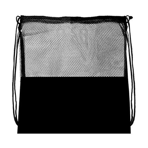 canlan Bolsa de malla de deporte portátil de almacenamiento de fútbol mochila de baloncesto negro Voleibol multifuncional bolsas de almacenamiento