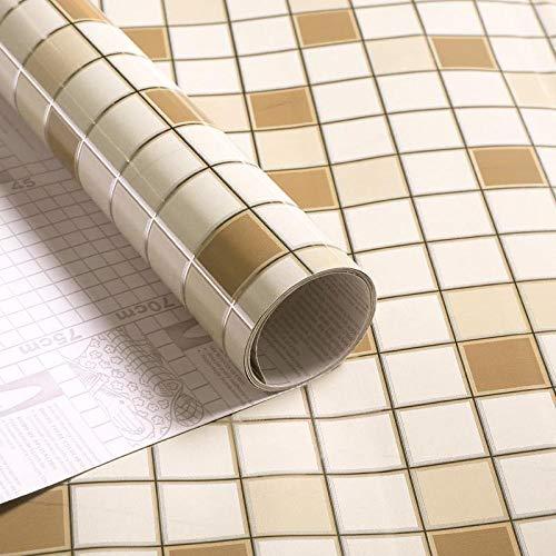 Papel Tapiz de Papel Autoadhesivo de la Cocina Absorbente de Aceite Grueso - 60cmx2m