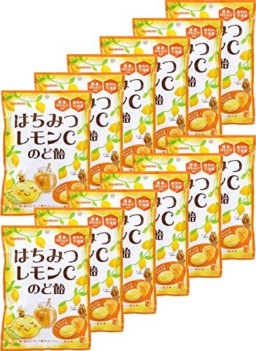 カンロ はちみつレモンCのど飴 90g×6袋入×(2ケース)