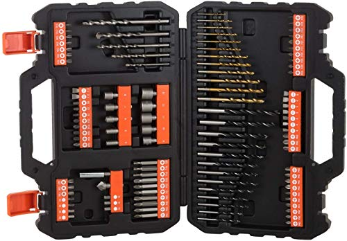 Black + Decker SET ACCESSORI 109 PZ