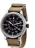 Big Military, orologio da aviatore, orologio B-Osservatorio per l'aviazione, 42 mm, al quarzo, batteria