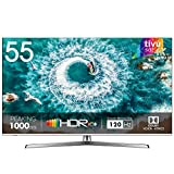 HISENSE H55U8BE Smart TV ULED Ultra HD 4K 55', Dolby Vision HDR 1000, Dolby Atmos, Unibody Design, Ultra Dimming, Tuner DVB-T2/S2 HEVC Main10 [Esclusiva Amazon - 2019]