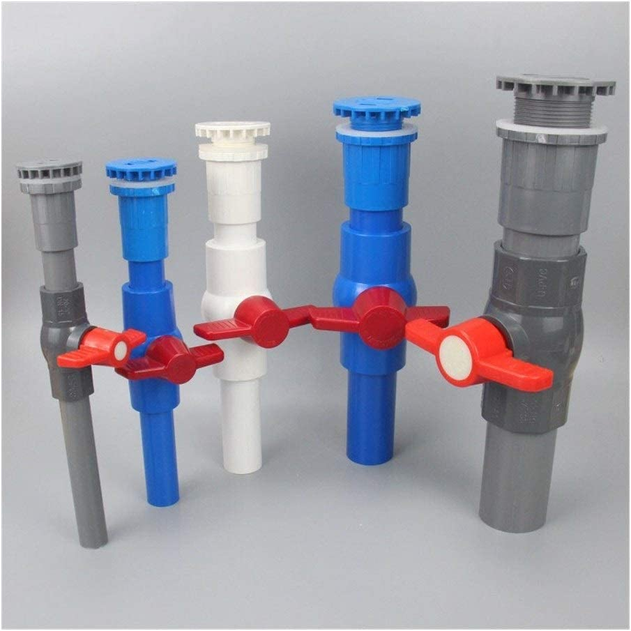 Tubes Pipes Hoses 3pcs PVC Tank and Ball Drainage OFFicial mail order Valve Finally resale start P