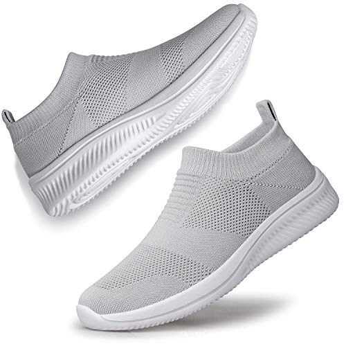 SILLENORTH Women Sneakers Walking Shoes Slip on Running Jogging Shoes...