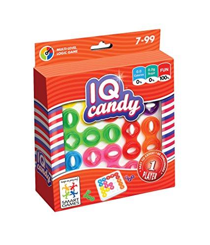 Smart Games–IQ Candy, Lernspiel, Lúdilo SG485, eventuell Nicht in Deutscher Sprache