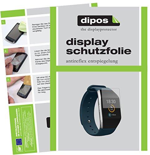 dipos I 6X Schutzfolie matt kompatibel mit Wiko WiMATE Prime Folie Bildschirmschutzfolie