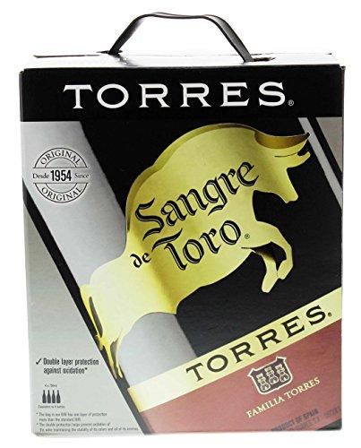 Torres - Sangre de Toro Rotwein 13,5% - 3l Bag-in-Box