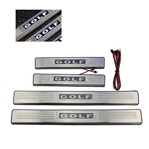 LED Edelstahl Einstiegsleisten für Golf 5 6 door sill Zubehör