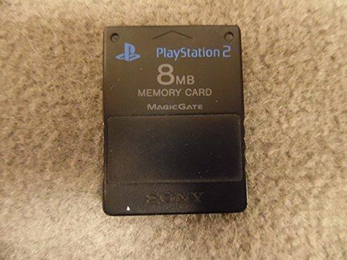 Playstation 2 Memory Card schwarz
