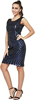 TS Sheath/Column Jewel Neck Knee Length Sequined Cocktail Party Dress with Sequin Couture?
