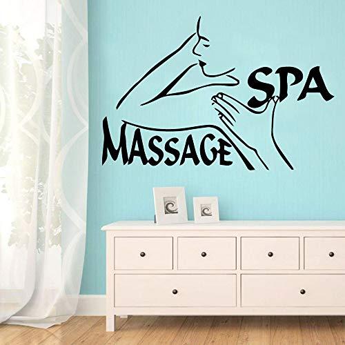XCSJX Massage Home Decor Modern Acrylic Decoration Vinyl Sticker Home Party Decoration Wallpaper Commercial Sticker 45x68cm