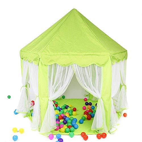 Viñedo Casa de Juegos para niños de Princess Castle Play Tent con Carpa Juguetes para niños Juegos para Interiores y Exteriores Carpa para niños (Color : #1)