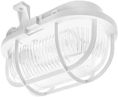 OVAL LED-Kanallampe, 170 mm, 630 lm, Ra> 80, 4000 K, PP-Körper, Glasdiffusor, 5 W, IP44, Energieklasse A +