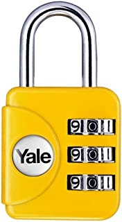 Yale YP1/28/121/1G Tough Solid Moulded Metal Body Travel Lock Grey