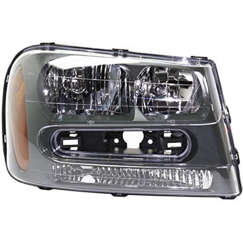 For Chevy Trailblazer 2002-2009 Headlight Assembly 02-2008 L Model/06-2009 SS Model Passenger Side DOT Certified GM2503213N