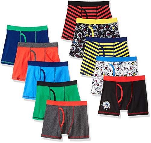 Spotted Zebra Boxer Brief Underwear Monsters X-Small (4-5)