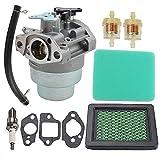 ATVATP GCV160 Carburetor for Honda GCV 160 Carburetor GCV160A GCV160LA GCV160LE GCV160A0 GCV160LA0 HRB216 HRR216 HRS216 HRT216 HRZ216 Lawn Mower 16100-Z0L-023 Carb & 17211-ZL8-003 Air Filter