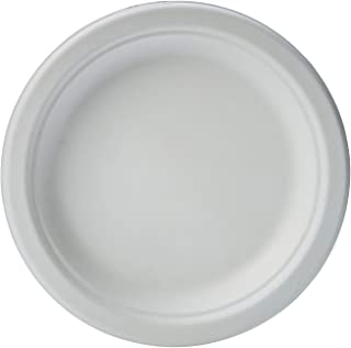 AmazonBasics Compostable Plates, 6-Inches, 125 Count