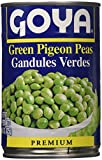 Goya Green Pigeon Peas-15 Ounce, 6 Count...