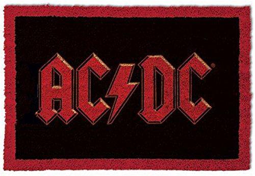 1art1 AC/DC - Logo Felpudo Alfombra (60 x 40cm)