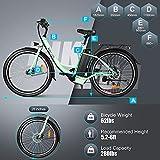 BIKFUN Elektrofahrrad, 20 Zoll E-Bike, Lithium-Akku - 6