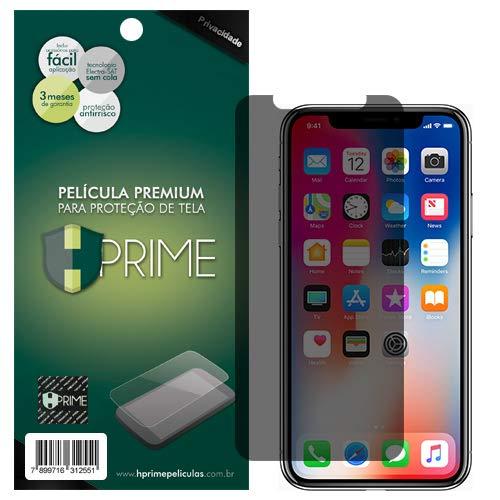 Pelicula de Vidro temperado 9h HPrime para Apple iPhone X/Xs - PRIVACIDADE, Hprime, Película Protetora de Tela para Celular, Transparente