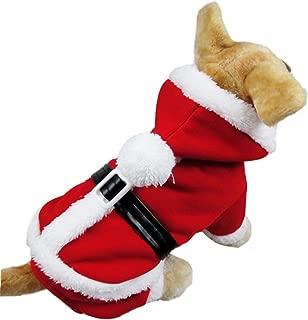 NACOCO Dog Christmas Costume Pet Winter Coat Cat Hoodies Warm Santa Claus Clothes