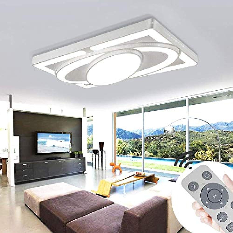 BMQXX 78W Dimmbar LED Deckenleuchte Modern Deckenlampe Schlafzimmer Küche Flur Wohnzimmer Lampe Wandleuchte Energie Sparen Licht [Energieklasse A++]