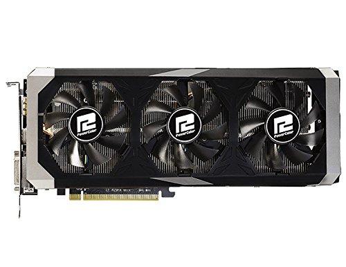 PowerColor AXR9 390 8GBD5-PPDHE AMD Powercolor Grafikkarte (ATI, PCI-e, 8GB GDDR5 Speicher, DVI, HDMI, DisplayPort)