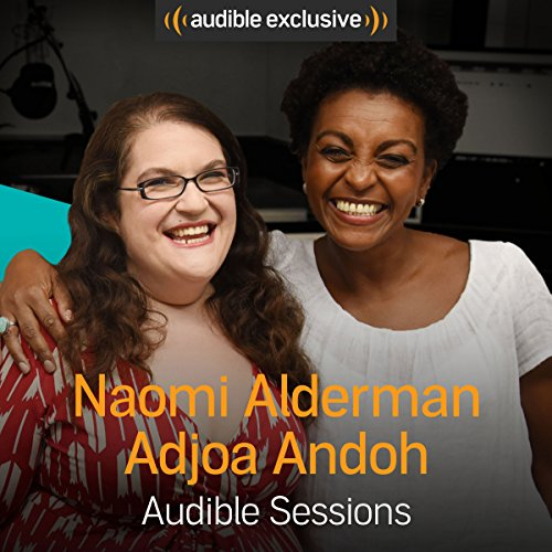 Naomi Alderman and Adjoa Andoh audiobook cover art