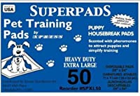 Superpads X-Large Maximum Absorbency 28 x 36-Inch Pet Training Pads, by SUPERPADS