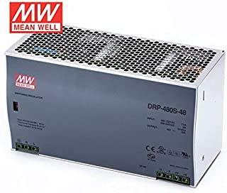 MEAN WELL DRP-480S-48 480W 10A 48V mean well Industrial DIN Rail Power Supply with PFC function