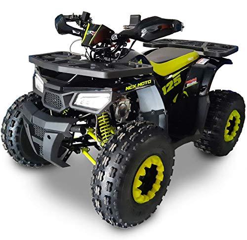 Quad Motore 4 Tempi 125cc NCX Moto New Hunter 125 Nero e Giallo Fluo
