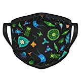 Dixiaomu Mask- Phytoplankton Reusable and Washable Cloth Face Mask Adult Black