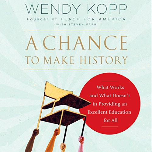 A Chance to Make History audiobook cover art