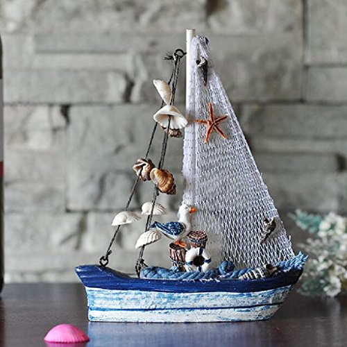 Holz Segelschiff Deko Maritim Dekoartikel MEER Schiff Boot