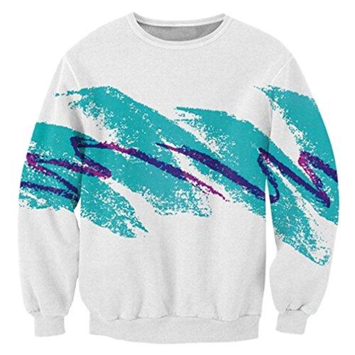 RAISEVERN Uniesx 90's Vintage Jazz Solo Cup Shirt Hipster Novelty Sweater Sweatshirt, Jazz, XLarge