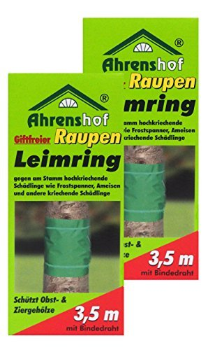 Preisjubel 2 x Raupen-Leimring giftfrei, Baumschutzring, Gartenleimring, Insektenabwehr