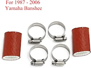 Cosmoska exhaust pipe clamps For Yamaha Banshee YZF350 YFS200 Raptor Blaster KX80 KX125 KX250 CR80 CR125 CR250 CR450 TRX250R KTM85 KTM125 KTM250 CR KX RM FMF DG Quads Dirt Bikes Exhaust Coupling Clamp