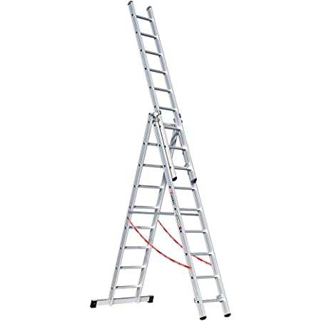 Leiter 3 x 9 Sprossen