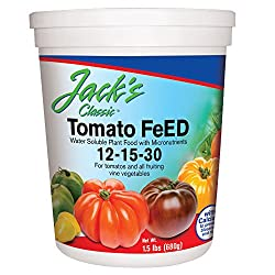 JR Peters 51324 Jack's Classic 12-15-30 Tomato Feed