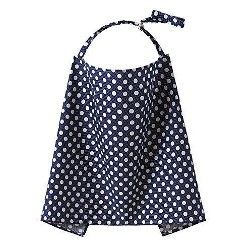 Fletion Atmungsaktive Baumwolle Baby Stillen Abdeckung, Stillschal, Stilltuch Stillen Schürze Schal mit Muster Blume EINWEG Verpackung
