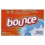 Bounce Dryer Sheets-Fresh Linen-40 Count