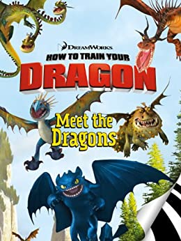 How to Train Your Dragon: Meet the Dragons (I Can Read Book 2) by [zuuka, Charles Grosvenor, Justin Gerard]