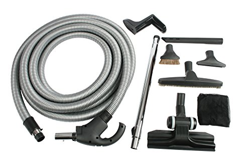 Cen-Tec Systems 93048 Central Vacuum Kit with Switch Control, 40 Ft. Hose