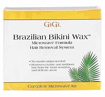 GiGi Brazilian Bikini Waxing Microwave Formula Home Hair Removal Kit