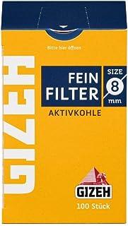 Gizeh 8 mm kolfilter 10 x 100 filter (1 000 stycken)