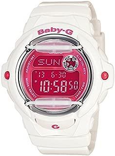 Casio Baby-G Digital Female White/Pink Watch BG169R-7D BG-169R-7DDR