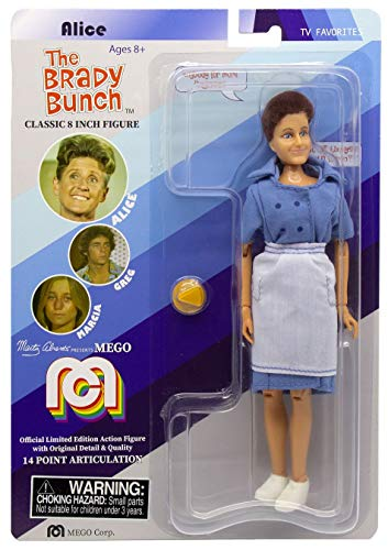 """Mego The Brady Bunch Alice Action Figure 8"""""""