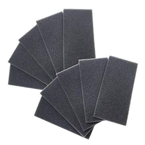 10 Stk. Ersatzfilter für LUNOS Typ eᶢᵒ, ego, Typ 9/FEGO-3R, Filterklasse G3, 039 998 - Filtereinsatz - Regenerierbare Filtermatte, e go Filter